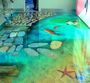 Эффект жизни в наливных полах
