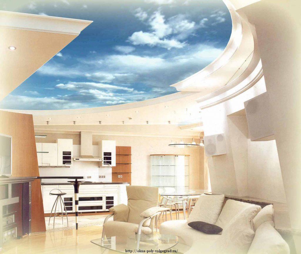 Виды потолков в квартире фото