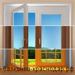 Деревянные окна на новый лад
