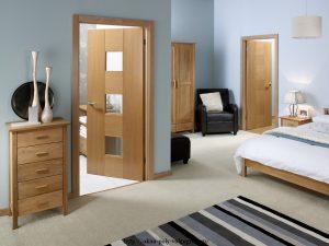 Выбор двери в спальню
