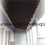 Как устанавливается крыша на балкон