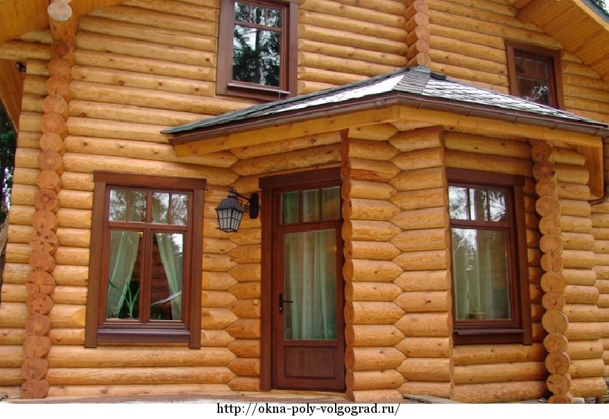 Окна для деревянного дома: виды и особенности монтажа
